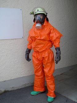 Chemikalienschutzanzug Form II